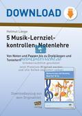 Musiktheorie-Spiele: Lernzielkontrollen Preview 1