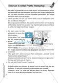 Lesekrimi: Einbruch in Onkel Franks Handyshop Preview 3
