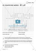 Wortschatz: Suchsel zu Nouns Preview 12
