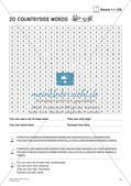 Wortschatz: Suchsel zu Nouns Preview 13