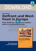 Erster Weltkrieg: Ostfront und Westfront in Europa Preview 1