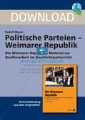 Politische Parteien in der Weimarer Republik Preview 1
