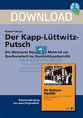 Die Weimarer Republik: Der Kapp-Lüttwitz-Putsch Preview 1