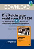 Die Reichstagswahl vom 6.6.1920 Preview 1