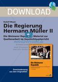 Die Regierung Hermann Müller: die Große Koalition Preview 1