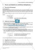 Schriftliche Multiplikation: Differenzierte Lernkontrollen Preview 3