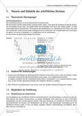 Schriftliche Division: Rechenübungen auf leichtem Niveau Preview 3