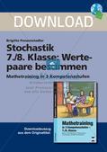 Mathematik_neu, Sekundarstufe I, Daten und Zufall, Stochastik, Wert, Paar, Rechnung, Multiplikation, Division, ., :