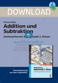Addition und Subtraktion Preview 1