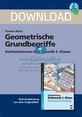 Geometrische Grundbegriffe Preview 1