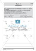 Die Grundrechenarten mit Bruchzahlen Preview 16