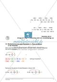 Terme und binomische Formeln Preview 9