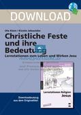 Christliche Feste und ihre Bedeutung Preview 1