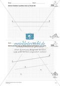 Das geometrische Zeichnen: Linien und Strecken Preview 13