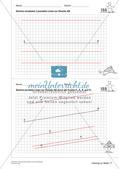 Das geometrische Zeichnen: Linien und Strecken Preview 24