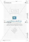 Das geometrische Zeichnen: Linien und Strecken Preview 5
