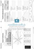 Die linearen Funktionen Preview 10