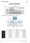 Die linearen Funktionen Preview 4