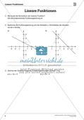 Die linearen Funktionen Preview 6