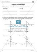 Die linearen Funktionen Preview 8