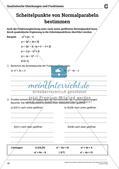 Die quadratischen Gleichungen und Funktionen Preview 18