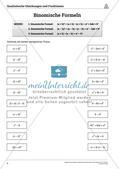 Die quadratischen Gleichungen und Funktionen Preview 4