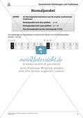 Die quadratischen Gleichungen und Funktionen Preview 5