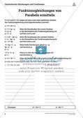 Die quadratischen Gleichungen und Funktionen Preview 8