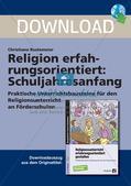 Religion erfahrungsorientiert: Schuljahresanfang Preview 1