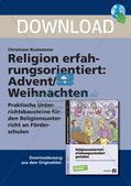 Religion erfahrungsorientiert: Advent/Weihnachten Preview 1
