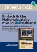 Nationalsozialismus: Leben im totalitären Staat und Antisemitismus Preview 1