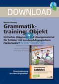 Grammatiktraining: Objekt Preview 1