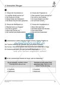 Satzlehre: Vermischte Übungen und Lernkontrolle Preview 12