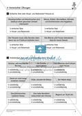 Satzlehre: Vermischte Übungen und Lernkontrolle Preview 8