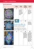 Bewertung im Kunstunterricht : Blattaufteilung Preview 7
