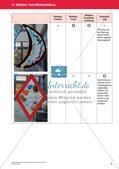 Bewertung im Kunstunterricht : Blattaufteilung Preview 8