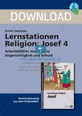 Lernstationen Religion: Josef 4 Preview 1