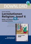 Lernstationen Religion: Josef 6 Preview 1