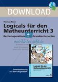 Logicals für den Mathematikunterricht: Rechenoperationen der Grundrechenarten Preview 1