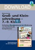 Orthographie: Substantivierung und Anrede Preview 1