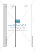 Schwungübungen: Blanko-Vorlagen und Deckblatt Preview 5