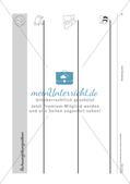 Schwungübungen: Blanko-Vorlagen und Deckblatt Preview 6