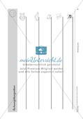 Schwungübungen: Blanko-Vorlagen und Deckblatt Preview 7
