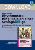 Rhythmustraining ohne Noten: Schlagabfolge Preview 1