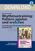 Rhythmustraining ohne Noten: Pattern Preview 1