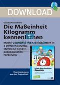 Das Kennenlernen der Maßeinheit Kilogramm Preview 1