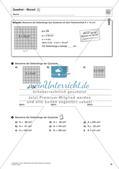 Flächeninhalt und Umfang: Rechteck und Quadrat Preview 17