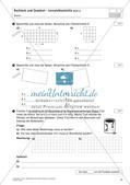 Flächeninhalt und Umfang: Rechteck und Quadrat Preview 19