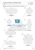 Flächeninhalt und Umfang: Rechteck und Quadrat Preview 20