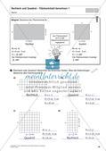 Flächeninhalt und Umfang: Rechteck und Quadrat Preview 28